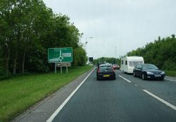 The A35 Dorchester Bypass - Geograph - 4981683.jpg
