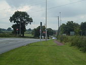 Traffic lights on the A530 - Geograph - 532084.jpg