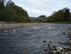 Findhorn Bridge on the A96 - Geograph - 1863861.jpg