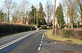 A bend in the B4012 - Geograph - 1146771.jpg