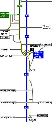 2010 Strip Map of the A74 III - Coppermine - 2513.JPG