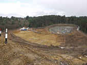 Hindhead A3 Bypass. South tunnels - Geograph - 770961.jpg
