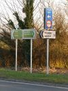 Sturminster Marshall- new signage on the A350 - Geograph - 1741455.jpg