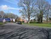 Broadfield Roundabout, A2220 - Geograph - 4887737.jpg