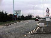 Private road at Heathrow Airport - Coppermine - 5145.jpg