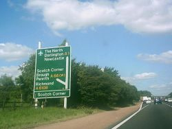 A1 sign at Scotch Corner.JPG
