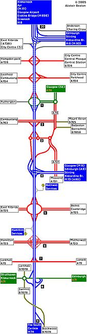 2007 Strip Map of the A74 VI - Coppermine - 2510.JPG