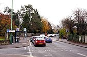 The junction of Windmill road and Rock Edge - Geograph - 1581649.jpg