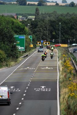 A40 roundabout at Ross on Wye - Geograph - 4089889.jpg