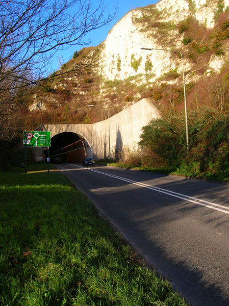 File:Southern Entrance, Cuilfail Tunnel - Geograph - 292058.jpg
