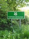 Farnborough Village Name Sign in National Trust Colours - Coppermine - 11459.jpg