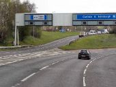 M8 at Junction 12 - Geograph - 2933576.jpg