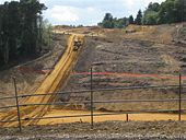 Hindhead Tunnel construction - Geograph - 844309.jpg