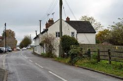 Cottages, Pampisford - Geograph - 5666272.jpg
