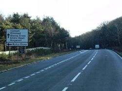 Northbound A31 near Stoney Cross - Geograph - 3285156.jpg