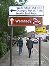 Street signs, Empire Way, Wembley - Geograph - 1304650.jpg