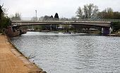 Donnington Bridge from the towpath - Geograph - 1253303.jpg