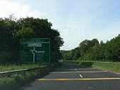 WestBound Sign Near Brecon On D2 - Coppermine - 23086.jpg