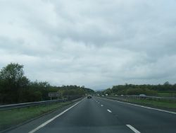 A55 westbound crossing the River Dee (C) Colin Pyle - Geograph - 2360684.jpg