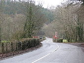 B3226 passes the acess to Head Mill Trout Farm - Geograph - 1694904.jpg