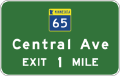 Minn-th-65-1-mile-advance-guide-sign.png