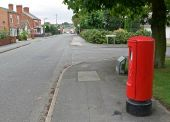 Postbox along Station Road - Geograph - 941046.jpg