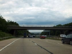 Allington Lane bridge over M27 - Geograph - 3572553.jpg