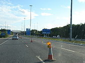 M1 approaching Port Tunnel (2) - Coppermine - 7488.JPG