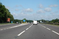 M6 westbound at Junction 3 - Geograph - 4593514.jpg