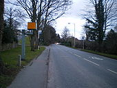 There's a 40-limit along here, and don't you forget it - Geograph - 1737573.jpg