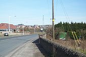 Leaving Crossgates Hill of Beath ahead - Geograph - 42978.jpg