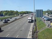 M1 at Leicester Forest East - Geograph - 420722.jpg