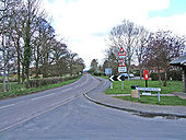 B4363 road at Kinlet, looking north - Geograph - 782465.jpg