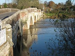 Julian's Bridge, Wimborne Minster - Geograph - 1194139.jpg