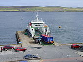 The Bressay Ferry at Lerwick - Geograph - 100945.jpg