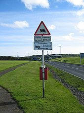 Road sign in Kirkwall - Coppermine - 2355.jpg