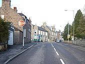 Crossroads in Torphins - Geograph - 1123207.jpg
