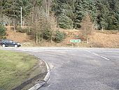 Junction of B979 with A96 - Geograph - 1191754.jpg