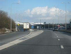 M20 Motorway, Junction 12 - Geograph - 1710466.jpg