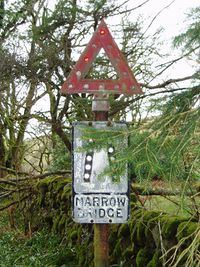 Triangle Road Signs >> Warning Sign/Road Narrows - Roader's Digest: The SABRE Wiki