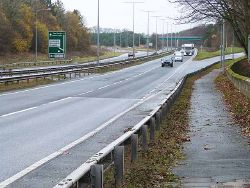 A1 at Stannington Bridge - Geograph - 3762824.jpg
