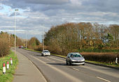 A6075 near Thoresby Colliery - Geograph - 349338.jpg