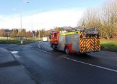 Christmas Day 2013 emergency call out from Duffryn Fire Station, Newport - Geograph - 3796771.jpg