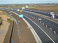 A1(M) looking north Cowthorpe - Coppermine - 1254.JPG