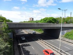 A1-A167 Stamfordham Road Interchange- South overbridge - Geograph - 4524843.jpg