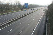 M4 Motorway, East of Junction 33 - Geograph - 380287.jpg