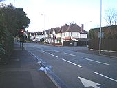 Traffic signals on the Compton Road - Geograph - 1682988.jpg