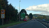 Monmouth , D2 traffic lights On A40 - Coppermine - 20497.jpg