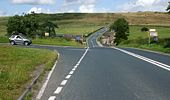 A6108 Halfpenny House junction - Geograph - 1411999.jpg
