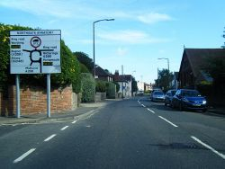 St Paul's Road approaching Northgate Gyratory in Chichester - Geograph - 3120811.jpg